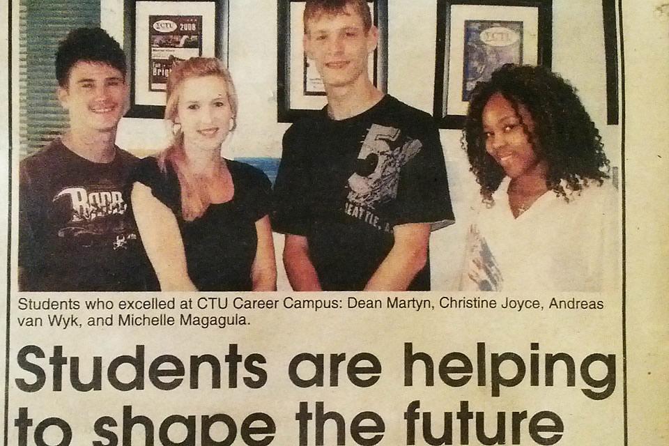 Christine Joyce Design so Fine CTU Student Nelspruit, Mpumalanga