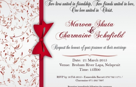 Wedding Invitation Design (Digital)