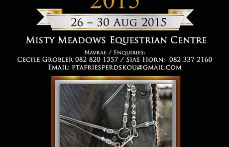 Magazine Advert for Frieskou 2015 Pretoria by Danina Friesian Stud