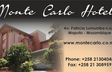 Monte Carlo Mozambique Business Card