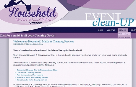 Household Maids & Cleaning services