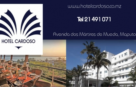 Hotel Cardoso Mozambique Business Card