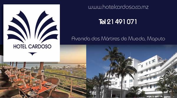 Hotel Cardoso Mozambique Business Card