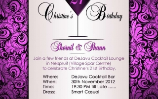 Birthday Evite Design (Digital Invitation)