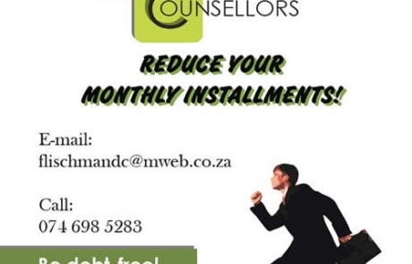 Flischman Debt Counsellors in Lydenburg Flyer Design