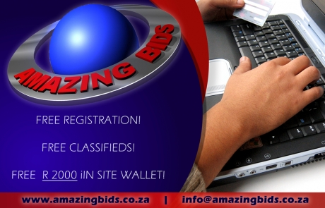 Amazing Bids Advert Design Social Media