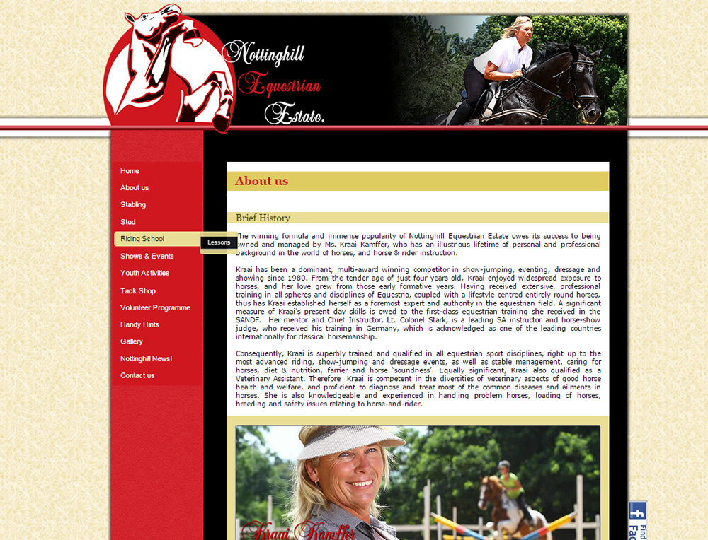 Nottinghill Equestrian Estate - Horse Riding School and Stable Yard White River Mpumalanga