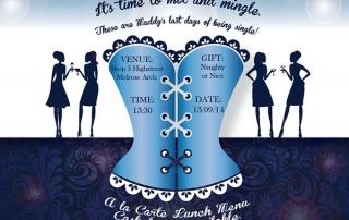 Bachelorette Party Invitation Design (E-Vite)