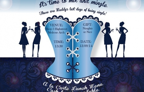 Bachelorette Party Invitation Design (E-Vite)