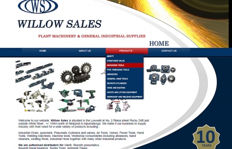 Willow Sales - Industrial Power Tool Suppliers & Distributers in Nelspruit / White River, Mpumalanga