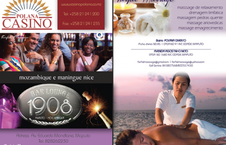 Polana Casino and Farfal Massage (Mozambique) Flyer Design