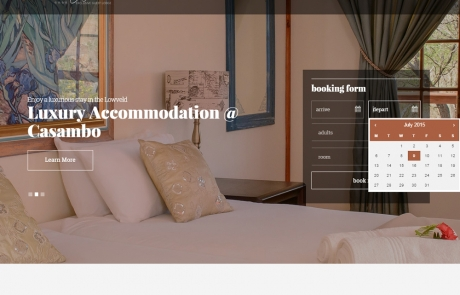 Casambo Exclusive Guest Lodge in Nelspruit/White River, Mpumalanga - South African Accommodation and wedding venue