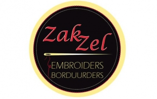 Zak Zel Embroiders White River - Logo Design