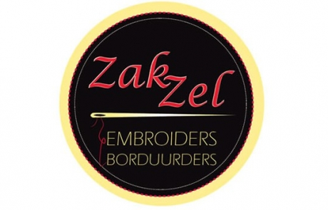 Zak Zel Embroiders White River - Logo Design