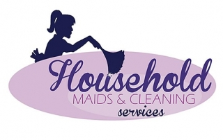 Household Maids & Cleaning Services - Logo Design