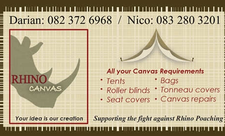 Rhino Canvas Business Card