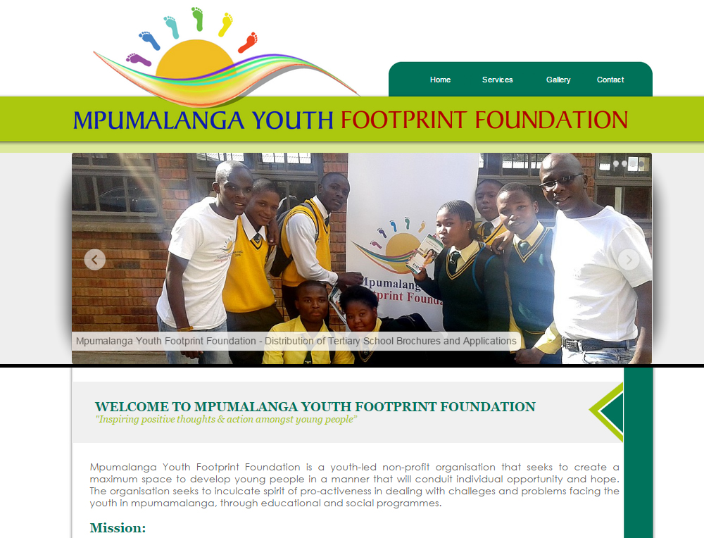 Mpumalanga Youth Foorprint Foundation nelspruit, Mpumalanga, Mbombela