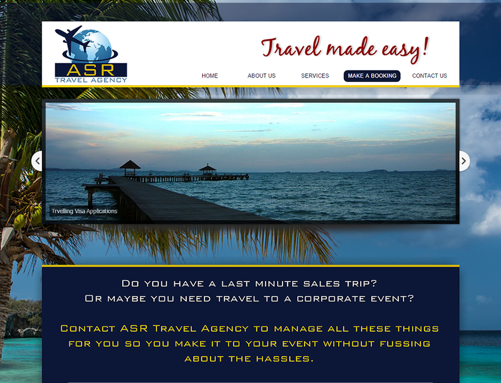 ASR Travel Agency in Nelspruit, Holidays, Flights, Visa Applications, Tours & Trips