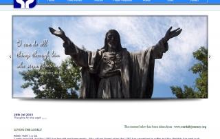 Uplift Me Christ. Christian Community Website
