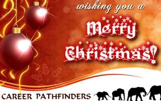 Career Pathfinders Christmas E-Card