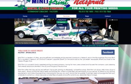 Nelspruit Minit Print / Printing Press Mpumalanga