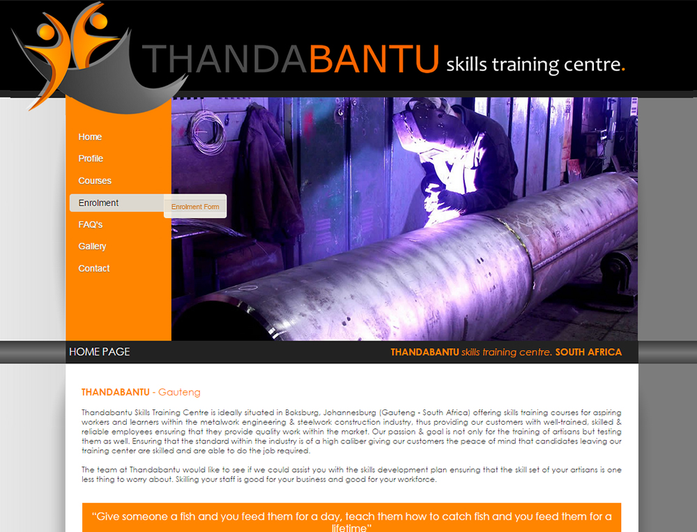 Thandabantu Skills Training Centre in Johannesburg, Gauteng JHB - Civil Artisan Training Courses