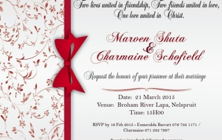 Wedding Invitation Design (Digital)