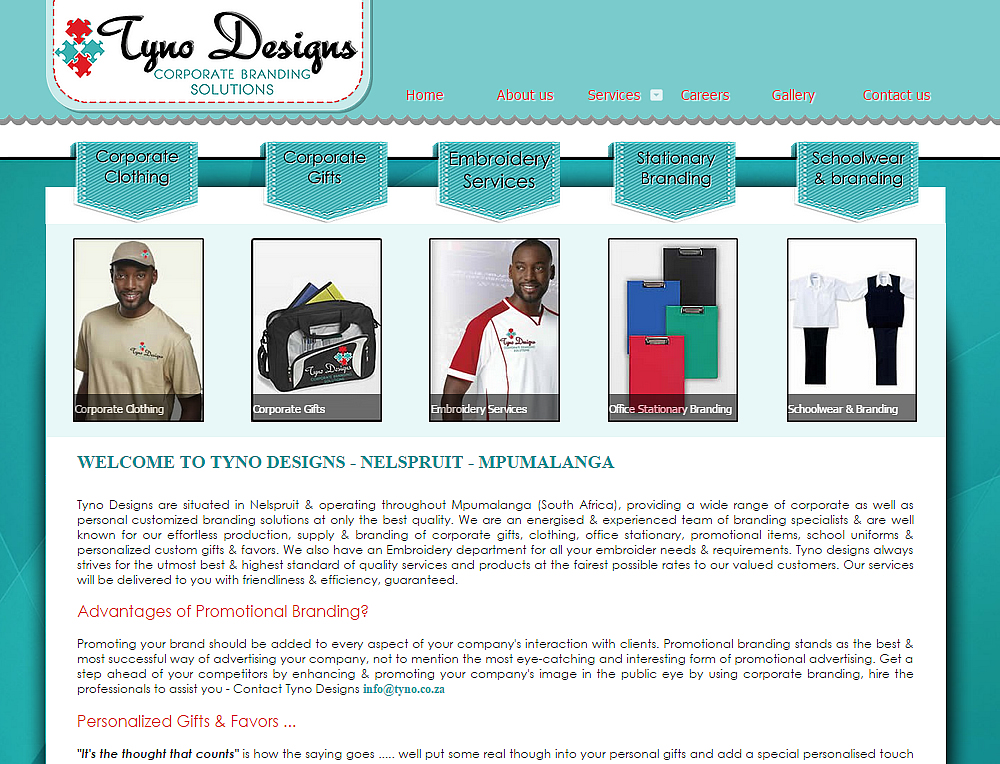 Tyno Design Website Design