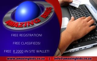 Amazing Bids Advert Design Social Media