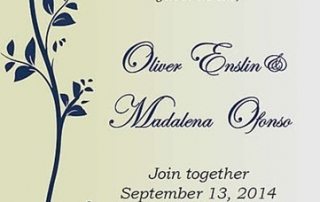 Wedding Invitation Design (Printed)