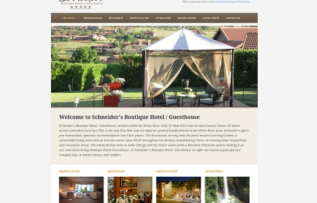 Schneider's Boutique Hotel / Guesthouse in White River Country and Golf Estates, Mpumalanga