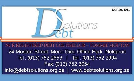 Debt solutions Business Card