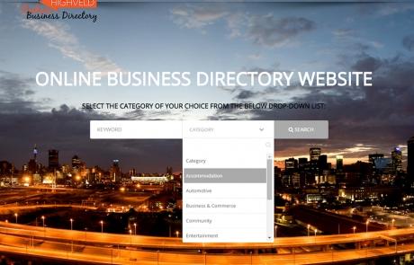 DIRECT'it HIGHVELD online Business Directory Website Gauteng, Pretoria, Johannesburg, JHB, Joburg