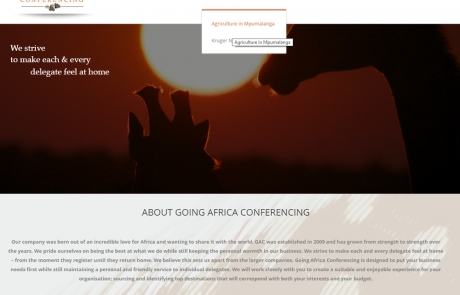 Going Africa Conferencing, Pre conference planning, Project Management, Event Planning and managing
